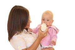Bebé que introduce Foto de archivo