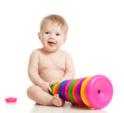 bebé que juega el juguete imágenes de archivo libres de regalías