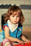 Bebé que juega, retrato Imagen de archivo