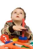 Bebé que mira para arriba fotos de archivo libres de regalías