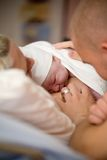 Bebé recém-nascido Imagens de Stock