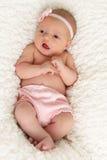 Bebé recém-nascido Imagens de Stock Royalty Free
