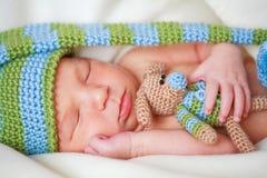 Bebé recién nacido adorable fotografía de archivo