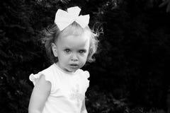 Bebé retro Foto de archivo