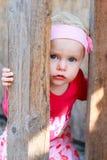 Bebé rubio Fotografía de archivo libre de regalías
