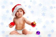 Bebé santa 20 Fotos de archivo