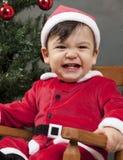 Bebé Santa Fotografía de archivo libre de regalías