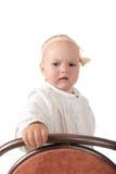 Bebé serio Fotografía de archivo