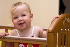 Bebé sonriente 1 Imagen de archivo