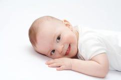Bebé sonriente Fotografía de archivo