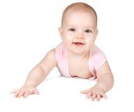 Bebé sonriente lindo Fotos de archivo libres de regalías