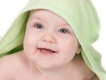 Bebé sonriente lindo Fotografía de archivo