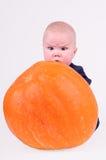 Bebé sorprendido Fotos de archivo