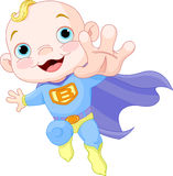 Bebé super Imagem de Stock Royalty Free