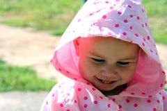 Bebé tímido imagen de archivo libre de regalías