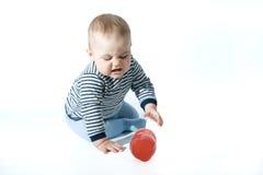 Bebé trastornado Fotos de archivo