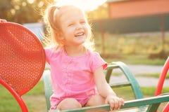 Bebé tres años de edad Imágenes de archivo libres de regalías