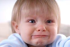 Bebé triste Fotografía de archivo libre de regalías