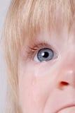 Bebé triste Fotos de archivo