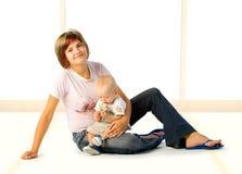 Bebé y mama imagen de archivo libre de regalías
