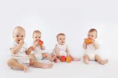 Bebés Foto de archivo libre de regalías