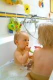 Bebés Fotografía de archivo