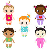 Bebés ilustración del vector