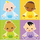 Bebés ilustração stock