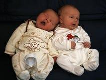 Bebés durmientes Imágenes de archivo libres de regalías