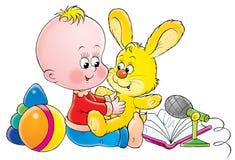 Bebê 019 Imagens de Stock