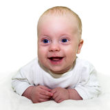 Bebê 4 meses velho Fotos de Stock