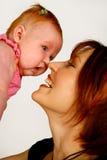 Bebê acima Imagens de Stock