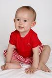 Bebê acima fotografia de stock royalty free