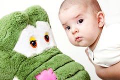 Bebê adorável Fotografia de Stock