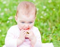 Bebê adorável Fotos de Stock Royalty Free