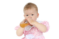 Bebê alegre Imagens de Stock Royalty Free