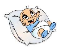 Bebê & descanso Fotos de Stock