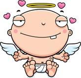 Bebê Angel Love dos desenhos animados ilustração royalty free