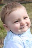 Bebê ao ar livre Fotografia de Stock Royalty Free