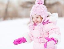 Bebê ao ar livre Foto de Stock Royalty Free