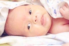 Bebê após shower_2 Foto de Stock Royalty Free