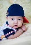 Bebê asiático fotografia de stock royalty free
