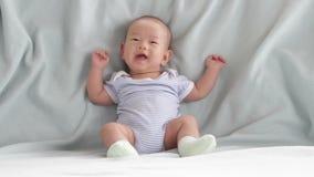 Bebê bonito video estoque