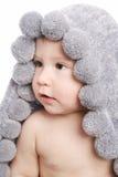 Bebê bonito após o chuveiro Imagens de Stock