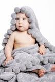 Bebê bonito após o chuveiro Imagens de Stock Royalty Free