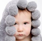 Bebê bonito após o chuveiro Fotos de Stock