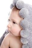 Bebê bonito após o chuveiro Imagem de Stock Royalty Free