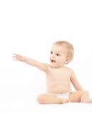 Bebê bonito da criança pequena Imagens de Stock Royalty Free