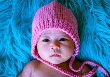 Bebê bonito da pose de Ásia foto de stock