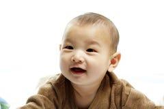 Bebê bonito feliz Fotos de Stock Royalty Free